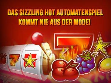 Toller Sizzling Hot Slot wartet auf Deine Erfolge
